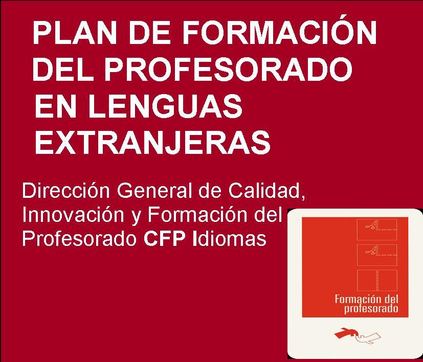 Plan de Formación del Profesorado en Lenguas Extranjeras